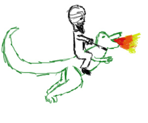 Mohammad and Dragon