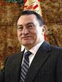 Hosni Mubarak, President of Egypt